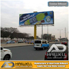 High Quality Outdoor Unipole Advertising Billboard Display Structure 18m X 6m