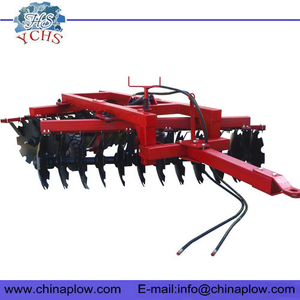 Tractor hydraulic disc harrow offset disk harrow