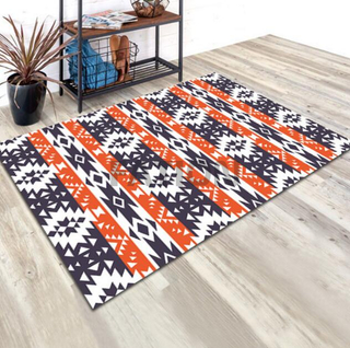 5'×8' Polyester Printed Carpet Bath Rug Kitchen Rug
