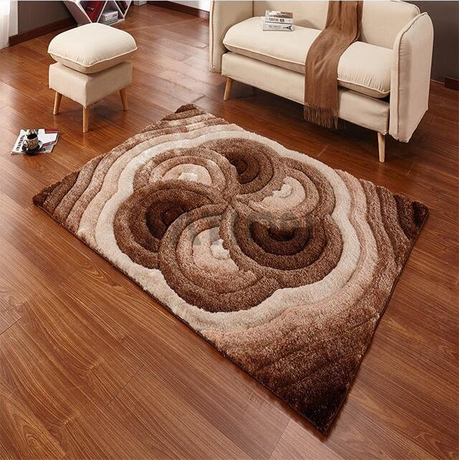 Contemporary Home Decor Area Rug Floor Shag Carpet