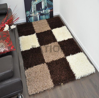 Polyester Home Decor Area Rug Warm Shag Carpet