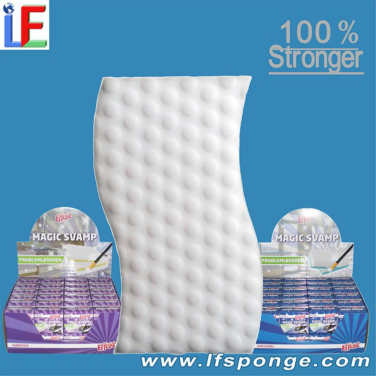 Customize Compressed Magic Sponge Scouring Pad