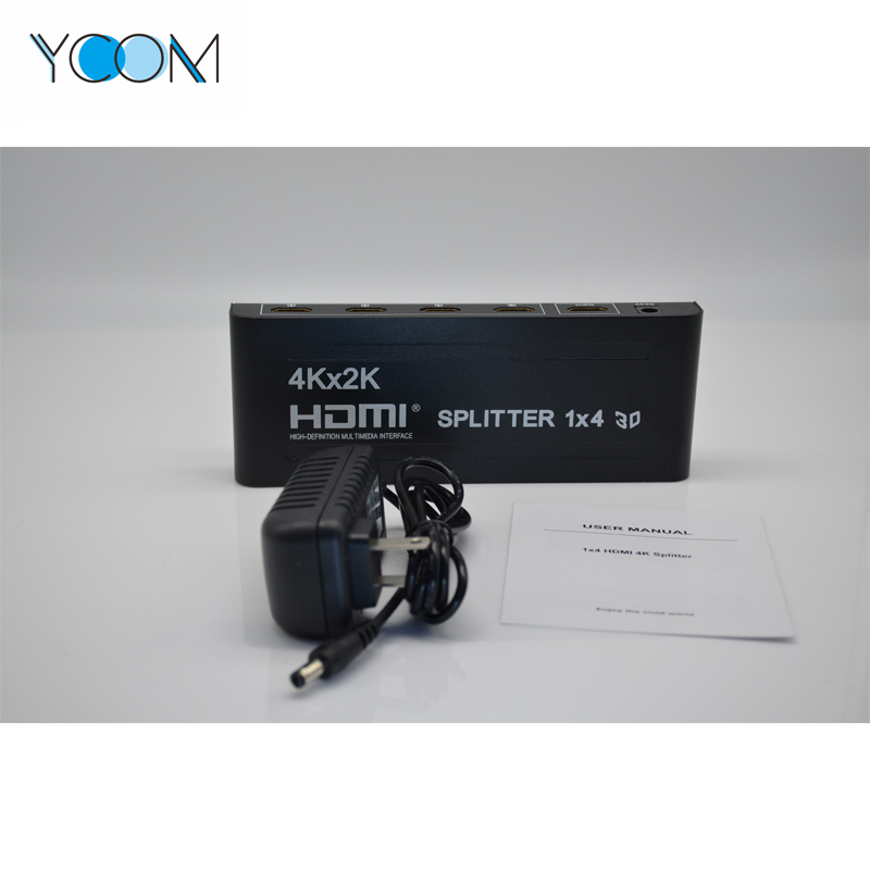 HDMI Spliter 4 Port 1.4A HDMI Splitter 3D
