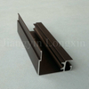 Black Anodized Matt Aluminium Profile for Windows