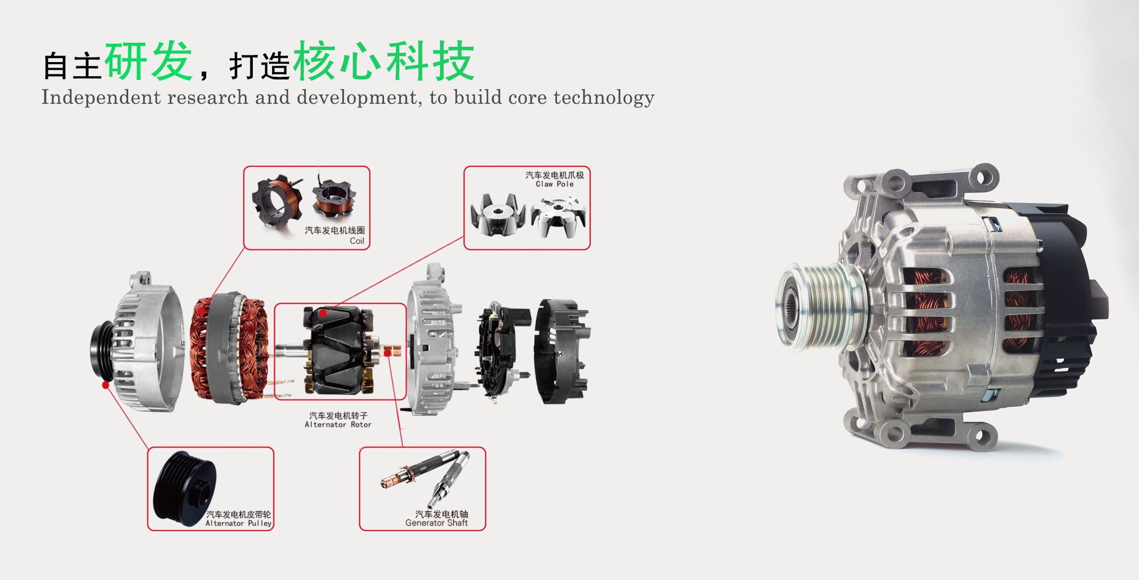 Car Alternator Dynamo Generators With Commutators Idokeren Com