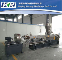 PE + 20~85% caco3 plastic filler masterbatch granulator machine