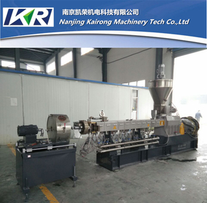 PE 20~85% Caco3 Plastic Compound Filler Masterbatch Granulator Machine