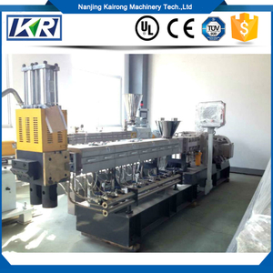 PET,PP,LDPE,PA,PVC,glass Fiber And Nylon Recycle Plastic Compound Granules Making Machine