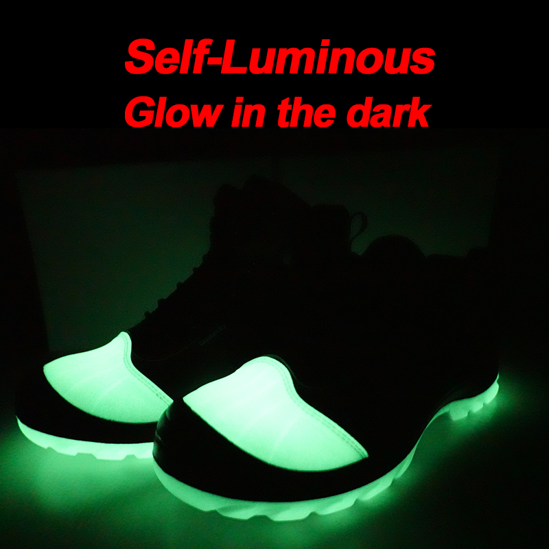 Self-luminous CE Approved Puncture Proof Industrial Safety Shoes Steel Toecap