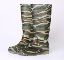 Non safety cheap Camouflage pvc rain boots