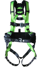Full body protection miller non-stretch harness