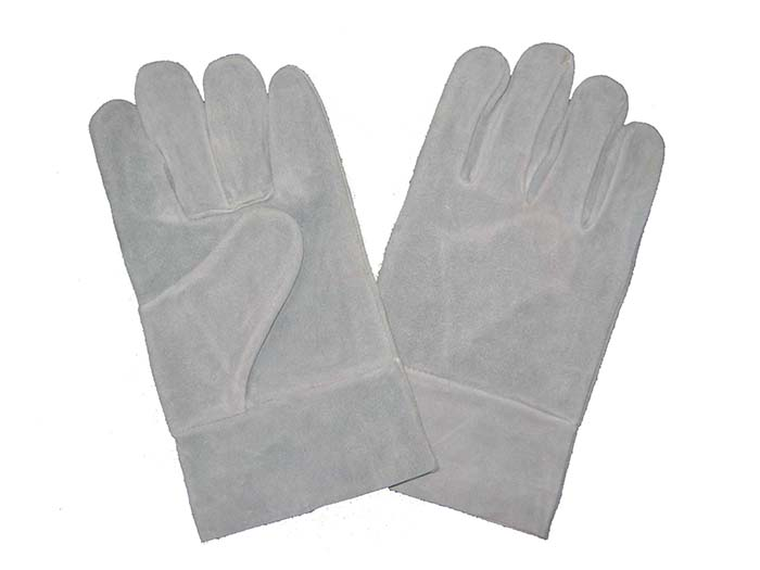 1300 cow split leather welder gloves unlined