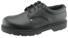 97078 full grain leather safety shoes with steel toe