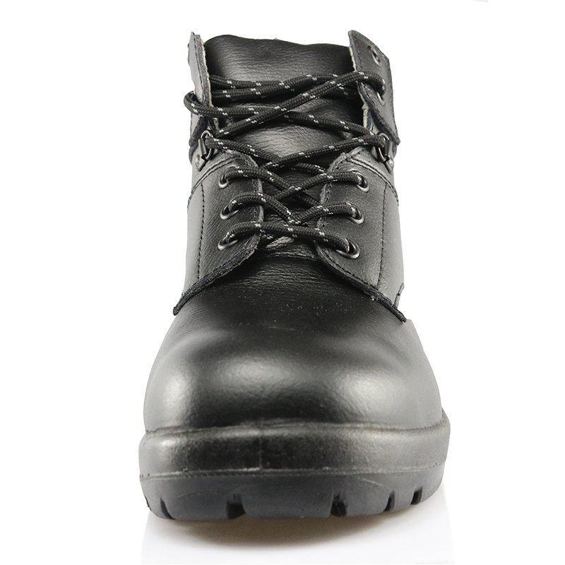 KNG001 top layer leather PU sole S3 standard kings safety shoes