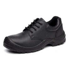 HS3325 PU injection leather safety work shoes for men