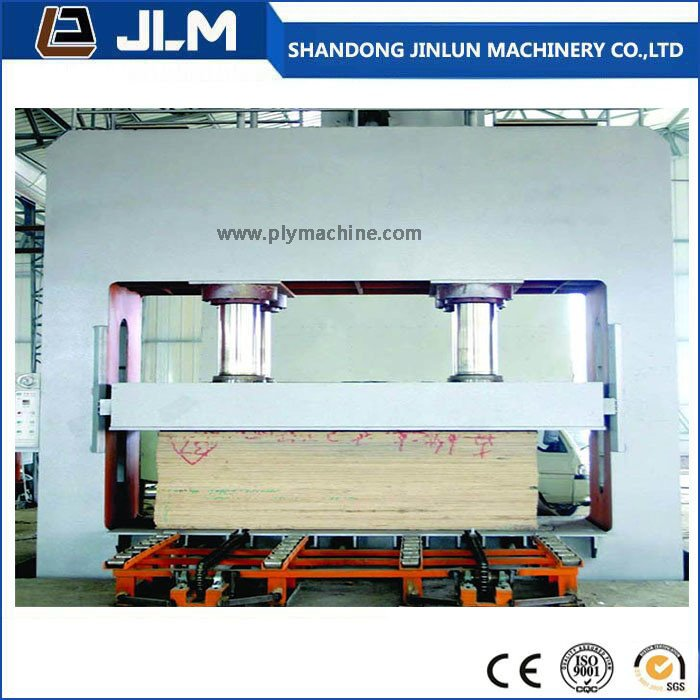 400 T 48 Feet Cold Press Machine for Plywood Production Line