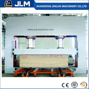 Hydraulic Cold Press Machine for Multilayer Board Making From China