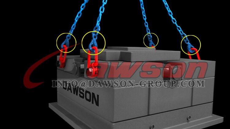 Application of G100 Eye Self-Locking Hook for G100 Chain Slings - China Manufacturer Supplier - Dawson Group Ltd.
