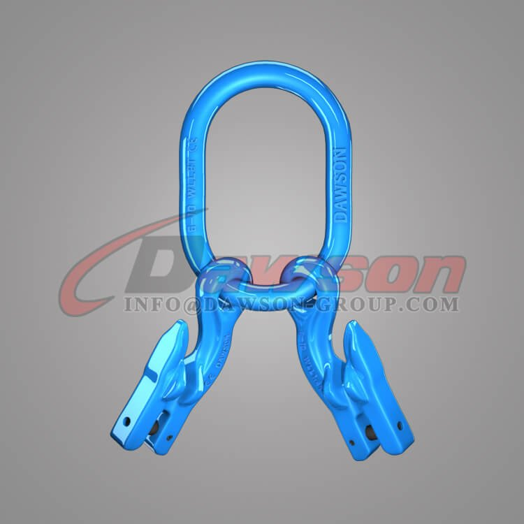 Grade 100 Master Link for Chain Slings + Grade 100 Eye Grab Hook with Clevis Attachment × 2 - Dawson Group Ltd. - China Manufacturer, Supplier
