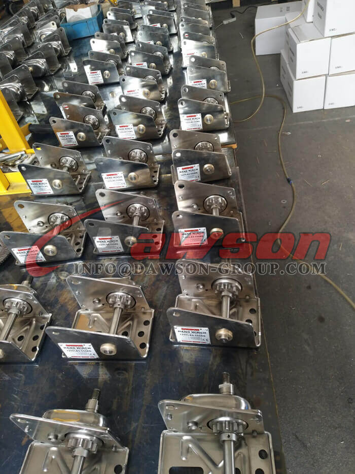 Stainless Steel Hand Winch for Pulling - Dawson Group Ltd. - China Manufacturer, Supplier, Factory