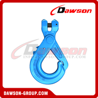 G100 / Grade 100 Special Clevis Self-locking Hook with Grip Latch for Chain Slings