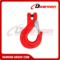 G80 / Grade 80 Clevis Sling Hook with Latch for Crane Lifting Chain Slings