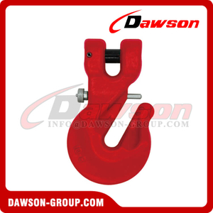 DS712 G80 Special Type Clevis Hook with Safety Pin for Adjust Chain Length