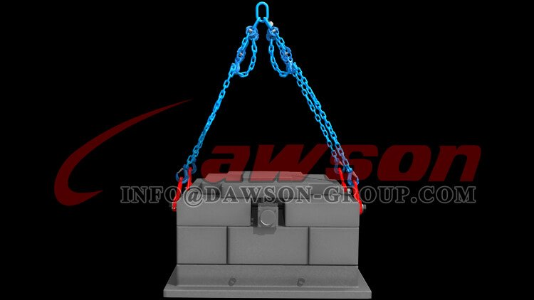 Application of G100 Eye Shortening Cradle Grab Hook, Grade 100 Forged Alloy Steel Eye Hook for Crane Lifting Slings - Dawson Group Ltd. - China Factory