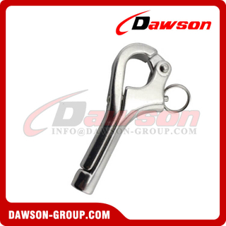 Stainless steel Quick release pelican shackle