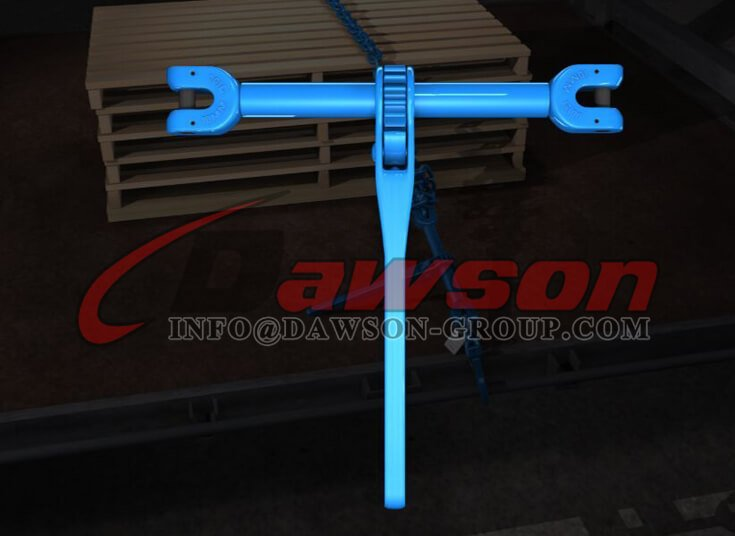 Application of G100 Forged Steel Clevis Type Ratchet Load Binder for Lashing - Dawson Group Ltd. - China Manufacturer