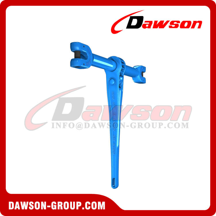 G100 Forged Steel Clevis Type Ratchet Load Binder for Lashing - Dawson Group Ltd. - China Manufacturer