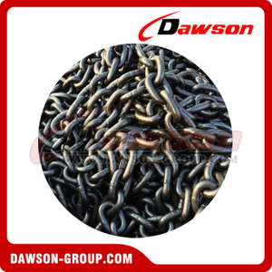 Alloy Steel Black Painted Grade 80 Short Fishing Link Chain / G80 Fishing Chain