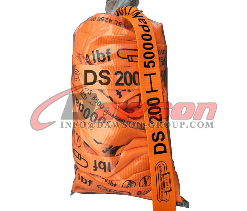50mm 5000daN Polyester Woven Cord Lash Strapping - Dawson Group Ltd. - China Supplier, Exporter
