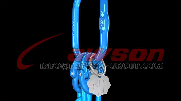 G100 Forged Master Link for Wire Rope Lifting Slings - Dawson Group Ltd. - China Factory, Exporter
