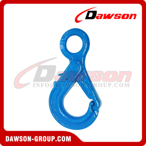 G100 / Grade 100 Special Eye Self-Locking Hook for Crane Lifting Chain Slings