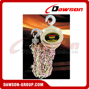 0.5T - 5T Non-Sparking Chain Hoist / Spark Resistant Chain Block for Lowering Heavy Loads