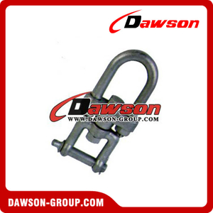 Carbon Steel Jaw and U Bolt Swivel Rings, Jaw End Swivel Links