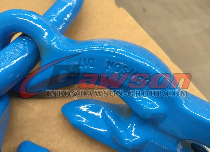 Grade 100 Forged Master Link with 2 Grab Hook - Dawson Group Ltd. - China Manufacturer