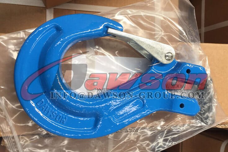G100 Clevis Sling Hook With Safety Latch for Chain Sling Fitting - Dawson Group Ltd. - China Factory