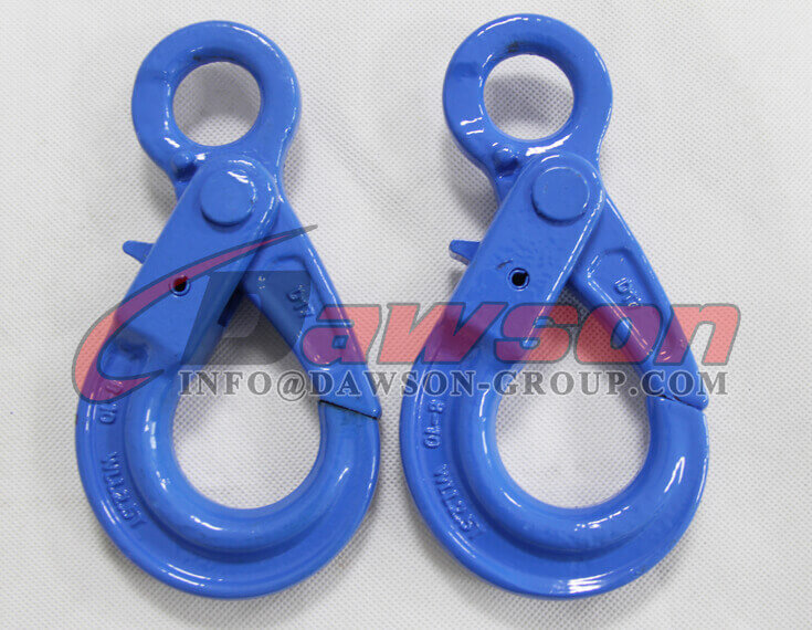 Grade 100 European Type Eye Self-Locking Hook Lifting Equipment for Crane Lifting Chain Slings - Dawson Group Ltd. - China Factory