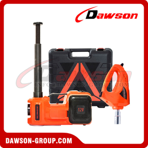 12V DC 5T Multi-Functional Electric Hydraulic Floor Jack With Electric Impact Wrench