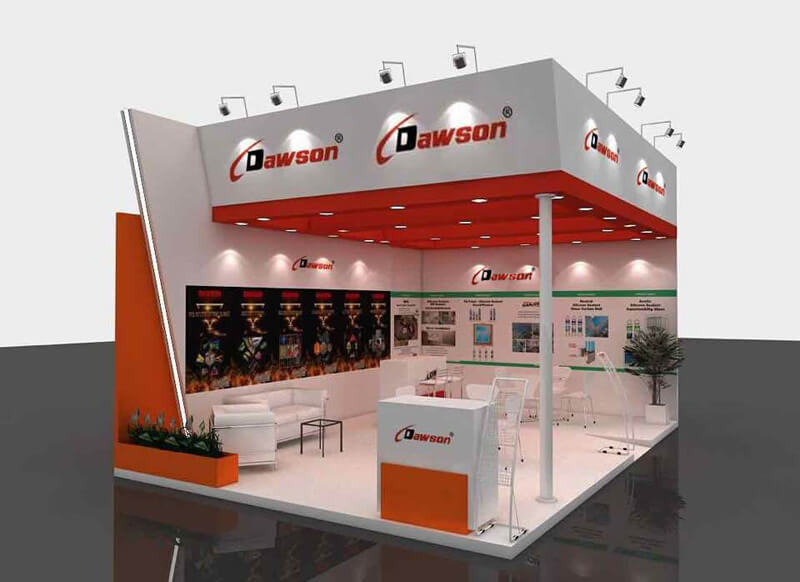 China DAWSON - Brazil Feicon Batimat 2019 Show - Lifting & Rigging Solutions