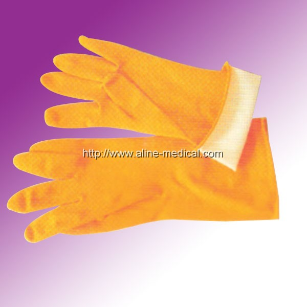 Latex House Hold Gloves