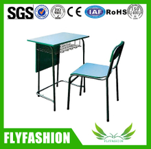 Hot sale school wooden single table and Chair(SF-74S)