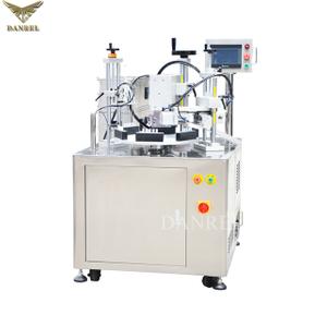 Automatic Ultrasonic Plastic Ampule Bottle and Eye Dropper Tube Filling and Sealing Machine, LDPE Ampoule Tube Sealer
