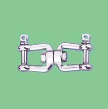 S/S EUROPEAN TYPE SWIVEL WITH JAW AND JAW