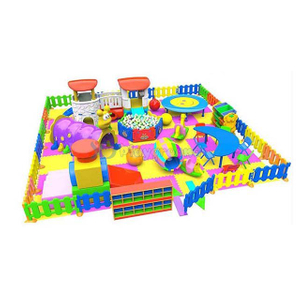 Amusement Theme Park Soft Toddler Indoor Playground