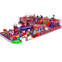 Customized Amusement Park Kids Soft Indoor Play Structure