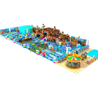 Ocean Themed Kids Soft Amusement Park Indoor Playground