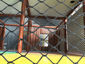 Heavy Box Netting of children indoor playground